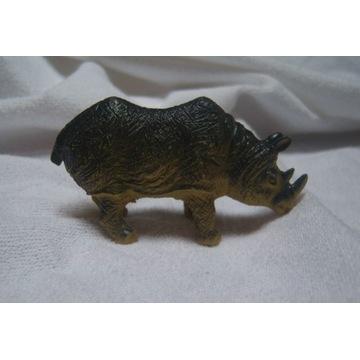 Nosorożec zwierzątko figurka zwierzątko 9 x 4,5 cm
