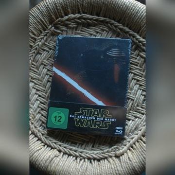 Star Wars Przebudzenie Mocy Steelbook 2xBluray PL