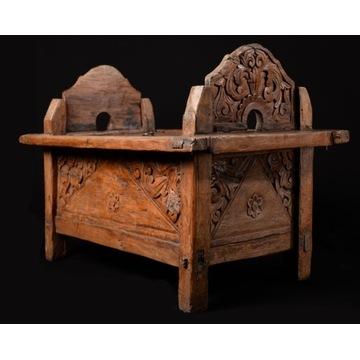 Skrzynia ślubna - Indonezja - XIX wiek