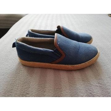 Buty chłopięce espadryle confront 33