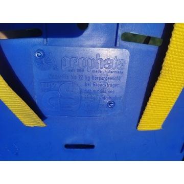 Fotelik rowerowy niemieck Prophete 25kg certyfikat