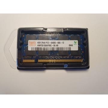 NOWY RAM DO LAPTOPA DDR2 4GB (1x4GB) PC2-6400/5300