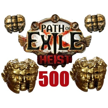 500x Chaos Orb Path of Exile Heist PC Softcore