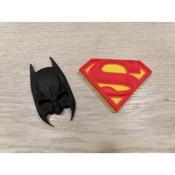 Batman & Supermen. Figurki z masy cukrowej.