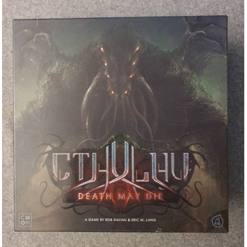 Cthulhu Death May Die, gra planszowa, ENG