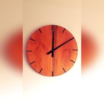 Zegar ścienny sosnowy DUŻY 60cm