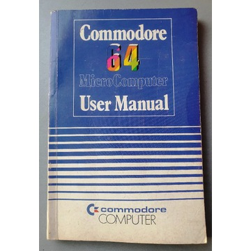 Commodore 64 user manual instrukcja micro computer