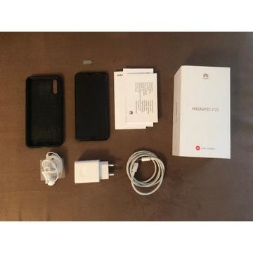 telefon HUAWEI P20 z pudełkiem i akcesoriami LEICA