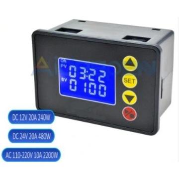 Przekaźnik czasowy timer 230V czasówka