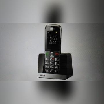 Telefon dla seniora Maxcom 720mm SOS Latarka