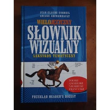 Słownik angielski, niemiecki, francuski wizualny