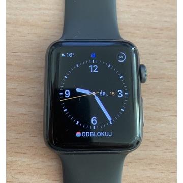 Apple Watch Series 3 42mm Space Grey + bransoletka