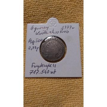 6 groszy 1777 KROLEWSTWO PRUS srebro