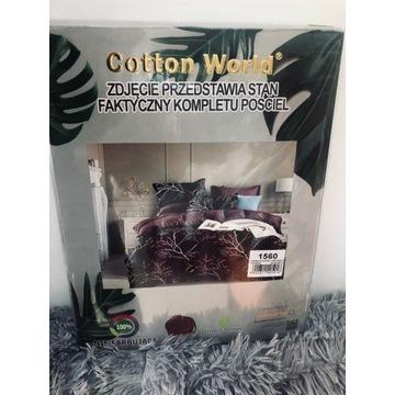 Pościel Cotton World 160x200cm