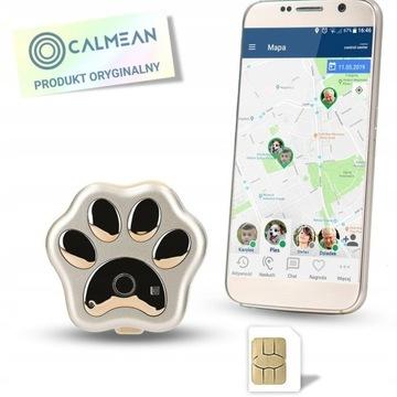 Lokalizator GPS Dla Psa CALMEAN IP66 + LED + SIM