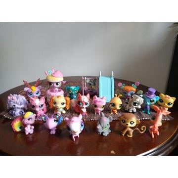 Zestaw 20 figurek Littlest Pet Shop + gratis