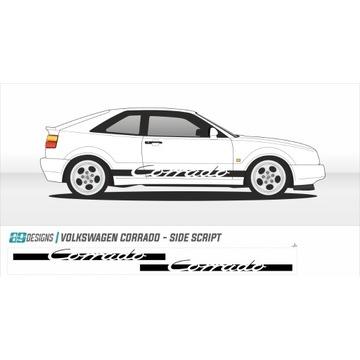 Naklejki pasy boczne VV Corrado - vag, german, vr6