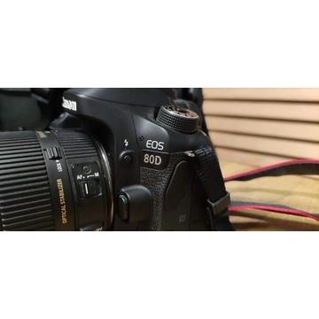 Canon 80D body - przebieg tylko 3200 zdjęć!