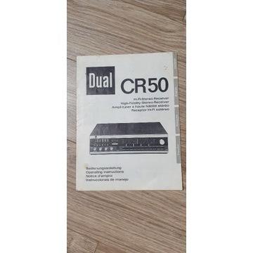 DUAL CR50 instrukcja