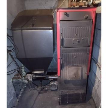 Piec CO 32 kW z podajnikiem