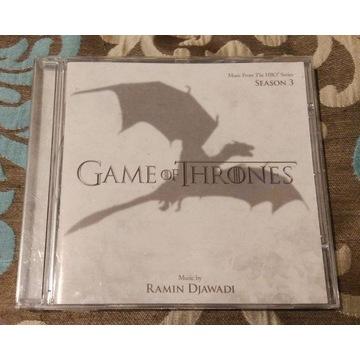 Ramin Djawadi Game of thrones season 3 OST CD
