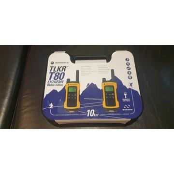 Motorola T80 Extreme Duo Pack - Zestaw nieużywany