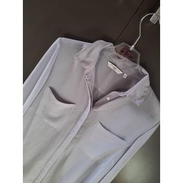 NEW LOOK koszula popiel mgiełka 38