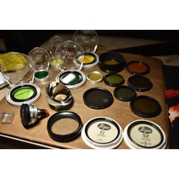 Zestaw filtrów fotograficznych,do aparatu,kolekcja