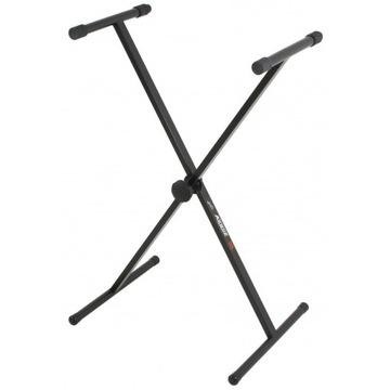Statyw klawiszowy typu X, krzyżak, Akmuz, jak nowy