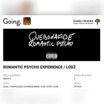 Bilet na koncert Quebonafide ŁÓDŹ [01.04.2020]