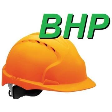 BHP: OCENA RYZYKA ZAWODOWEGO + czynniki biol.