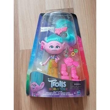 Trolls lalka zabawka z filmu trolle plus akcesoria