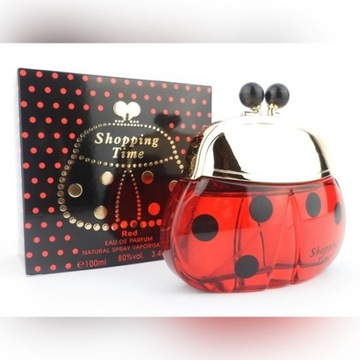 SHOPPING TIME RED 100 ML EDP-Tiverton
