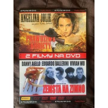Prawdziwe kobiety, Zemsta na zimno- A.Jolie - DVD