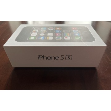iPhone 5s, space grey, 16 GB