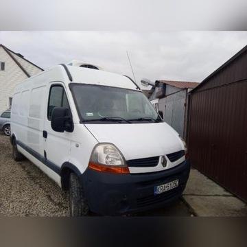 Renault Master Chlodnia ( uszkodzony silnik)
