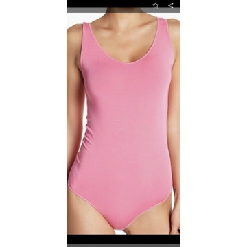 Wolford Viscose String Body Peony Pink  S Sm