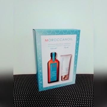 Zestaw Moroccanoil olejek 125ml + Krem do rąk 75ml