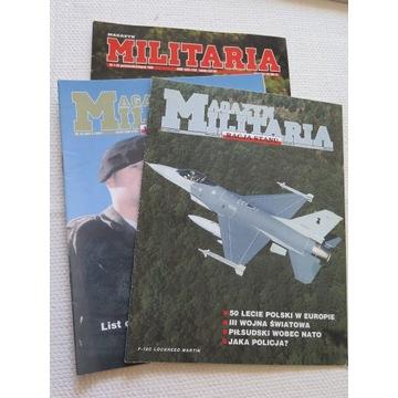 Magazyn Militaria z 1996 i 1997 roku szt 3