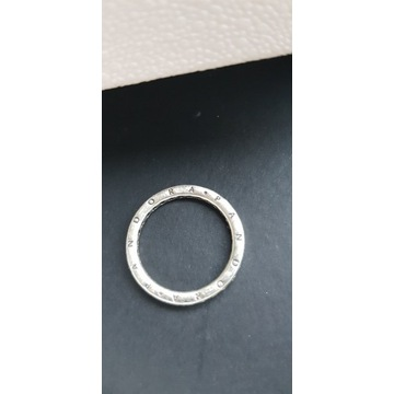 pierścionek PANDORA jak nowy, rozmiar 52 LOGO