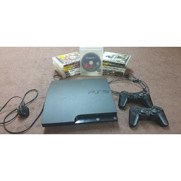 PlayStation 3 PS3 2 pady 13 gier UFC FIFA GTA NBA