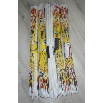 Wiklina papierowa -  rurki długie aż 54cm-1000szt.
