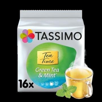 Herbata TASSIMO Green Tea with Mint 16 kapsułek