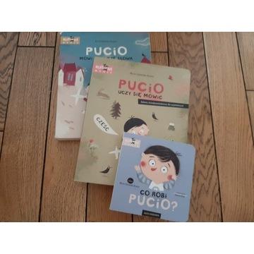 Zestaw 3 Książki - Pucio