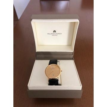 zegarek złoty Maurice Lacroix Les Classiques 18 k