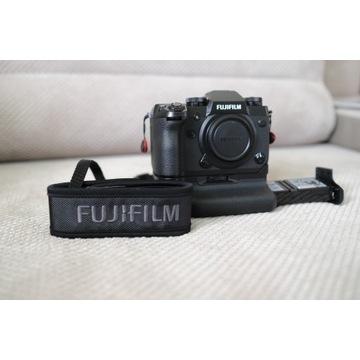 FujiFilm X-H1 + GRIP VPB-XH1+2 orginalne baterie