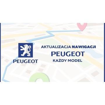 Aktualizacja Nawigacji Peugeot 208,308, 508, RCZ,