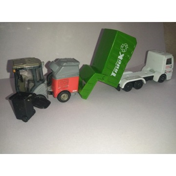 Zamiatarka Siku śmieciarka super Pover truck
