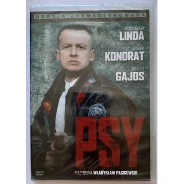 Nowy w folii Psy film DVD Linda Pasikowski