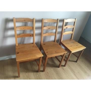 3 krzesła Ikea